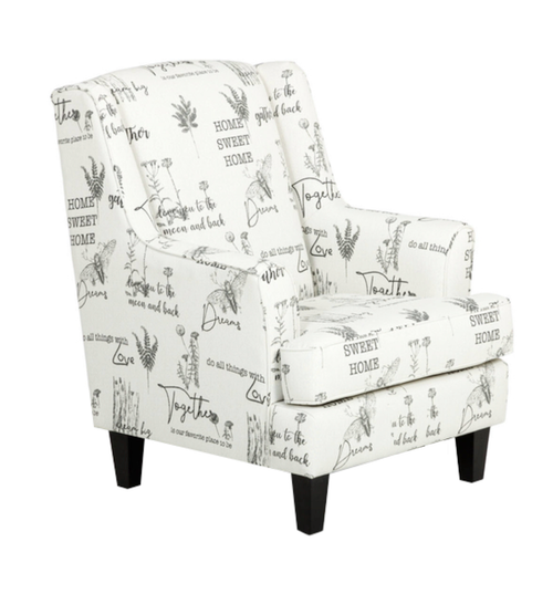 906 WING CHAIR-TOGETHER DUSK