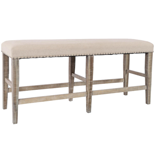FAIRVIEW ASH COUNTER HEIGHT BENCH
