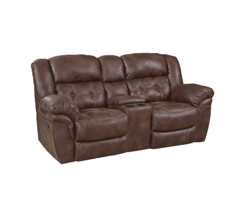 PADRE RECLINING LOVESEAT w/CONSOLE