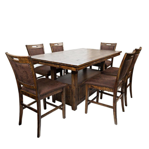 """75"""" CANNON VALLEY COUNTER HEIGHT 5 PC SET"""