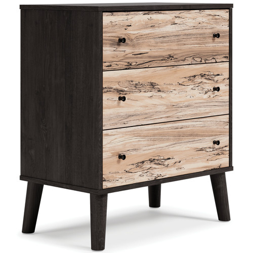 Piperton Two-tone Three Drawer Chest