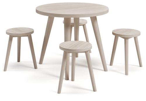 Blariden Natural Table Set (5/CN)