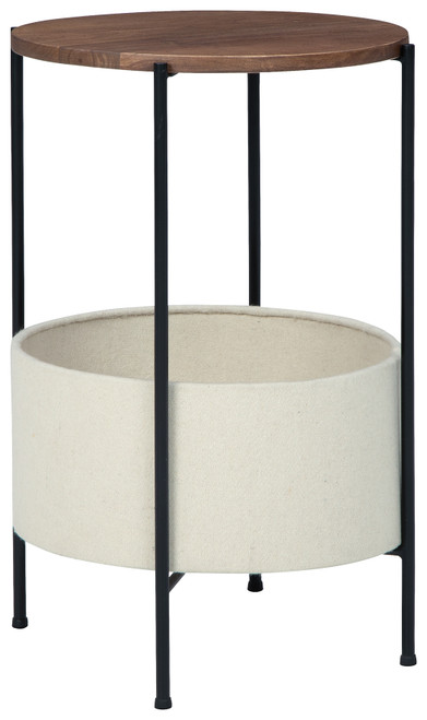 Brookway Black/Cream Accent Table