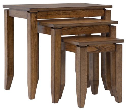 Brentmond Brown Accent Table Set (3/CN)