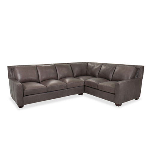 HERMES GREY 2PC SECTIONAL