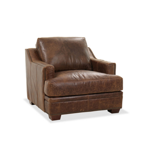 ACCENT CHAIR - ANCIENT BROWN