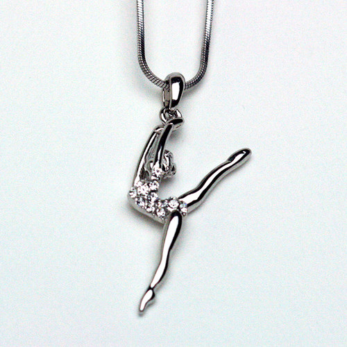 Leaping Dancer Necklace