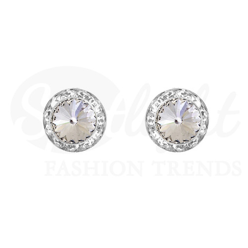 MultiStone Earrings (Swarovski) 11mm