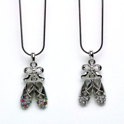 Necklace Ballet Slippers (style E)