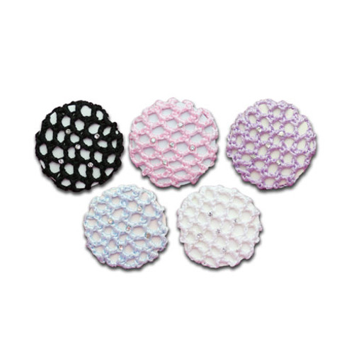 Rhinestone Bun Cover (Small)