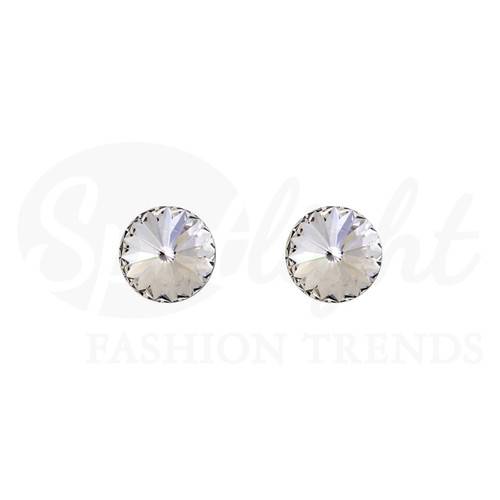 Rivoli Earring (Swarovski) 10mm