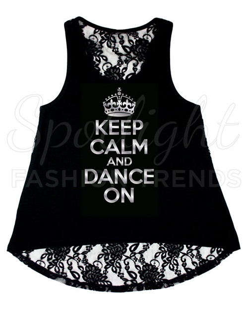 *Keep Calm Tank Top