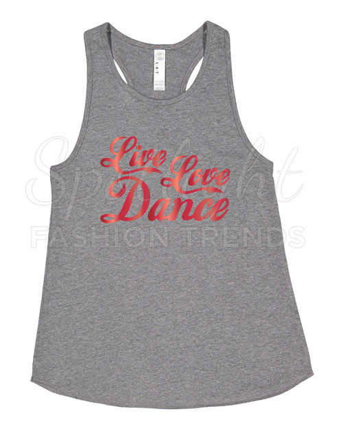 Live Love Dance Tank (Child)