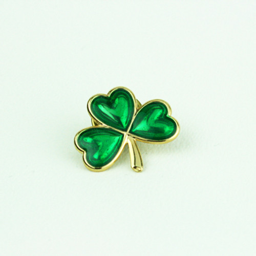 C-Shamrock Metallic Pin