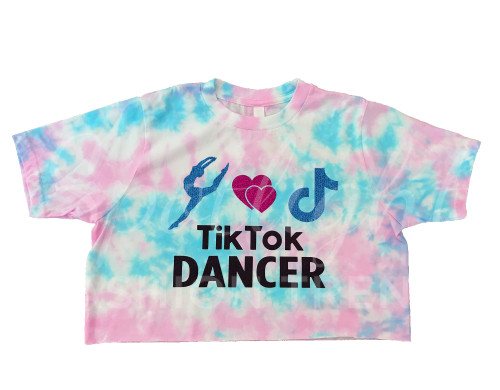 TikTok Dancer TieDye Crop Top