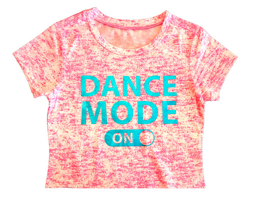 Dance Mode On Crop Top