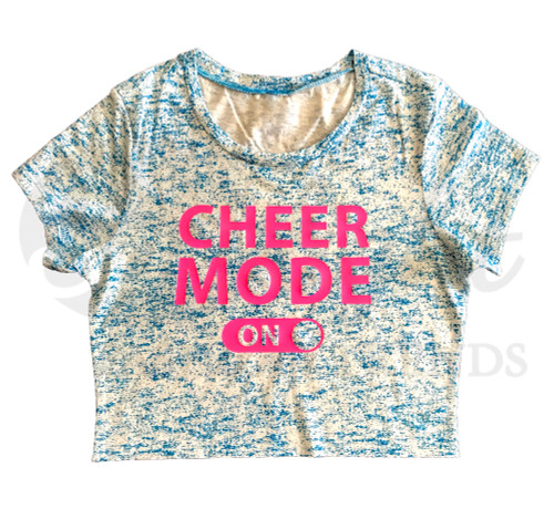 Cheer Mode On Crop Top