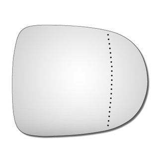 Right Hand Drivers Side Renault Clio Mk3 2009-2013 Wide Angle Wing Door Mirror Glass