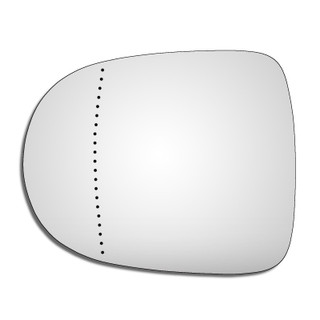 Left Hand Passenger Side Renault Clio Mk3 2009-2013 Wide Angle Wing Door Mirror Glass