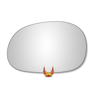 Left Hand Passenger Side Renault Laguna 1994-2001 Convex Wing Door Mirror Glass