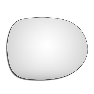 Right Hand Drivers Side Honda Civic Mk8 2006-2011 Convex Wing Door Mirror Glass