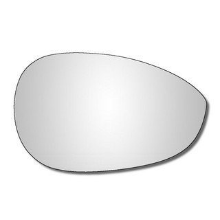 Right Hand Drivers Side Fiat 500 2007-2020 Convex Wing Mirror Glass Inc Abarth