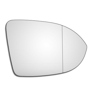 Right Hand Drivers Side VW Arteon 2017-2019 Wide Angle Wing Door Mirror Glass