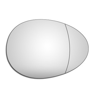 Right Hand Driv Side Mini R57 Convertible 2009-2018 Wide Angle Wing Mirror Glass