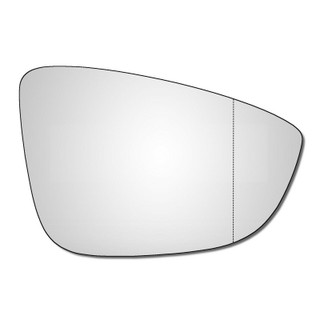 Right Hand Drivers Side VW Passat B7 2008-2015 Wide Angle Wing Door Mirror Glass