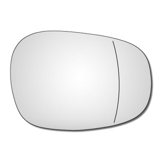 Right Hand Drivers Side BMW 1 Series 2008-2013 Wide Angle Wing Door Mirror Glass
