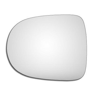 Left Hand Passenge Side Renault Clio Mk3 2009-2013 Convex Wing Door Mirror Glass