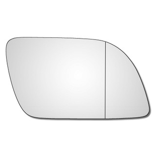 Right Hand Drivers Side VW Polo Mk4 2002-2005 Wide Angle Wing Door Mirror Glass