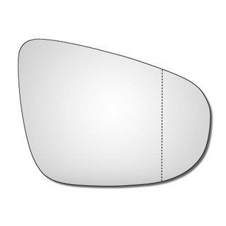 Right Hand Drivers Side VW Golf Mk6 2008-2014 Wide Angle Wing Door Mirror Glass