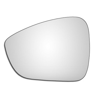 Left Hand Passenger Side Citroen C3 Mk2 2009-2017 Convex Wing Door Mirror Glass