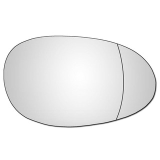 Right Hand Drivers Side Smart Car 1999-2007 Wide Angle Wing Door Mirror Glass