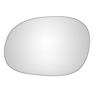 Left Han Passenger Side Citroen Xsara Picasso 1999-2010 Convex Wing Mirror Glass