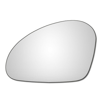 Left Hand Passenger Side Seat Leon 2003-2007 Convex Wing Door Mirror Glass