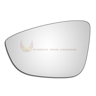 Left Hand Passenger Side VW Eos 2008-2015 Convex Wing Door Mirror Glass Uk Made!