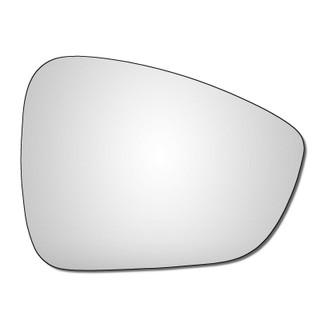 Right Hand Drivers Side Citroen C3 Mk2 2009-2017 Convex Wing Door Mirror Glass