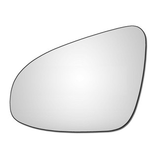 Left Hand Passenger Side Peugeot 108 2014-2020 Convex Wing Door Mirror Glass