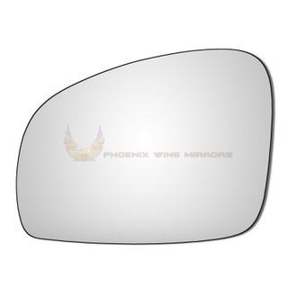 Left Hand Passenger Side Skoda Roomster 2006-2016 Convex Wing Door Mirror Glass