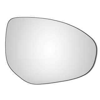 Right Hand Drivers Side Mazda 2 2007-2017 Convex Wing Door Mirror Glass