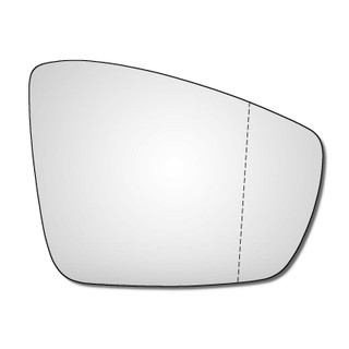 Right Hand Drivers Side VW Polo Mk5 2009-2018 WIDE ANGLE Wing Mirror Glass 6R 6C