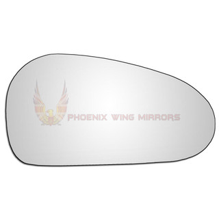 Right Hand Drivers Side Proton Gen 2 2004-2008 Convex Wing Door Mirror Glass