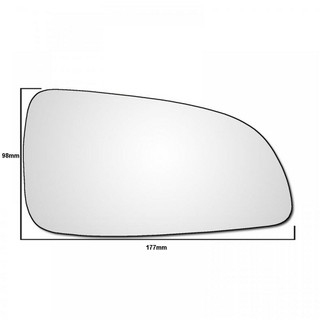 Right Hand Drivers Side Vauxhall Astra H 2004-2009 Wing Door Mirror Glass (FSP)