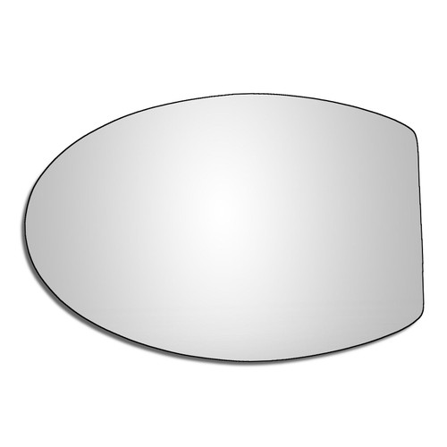 Left Hand Passenger Side Microcar M.Go-3 2015-2019 Convex Wing Mirror Glass
