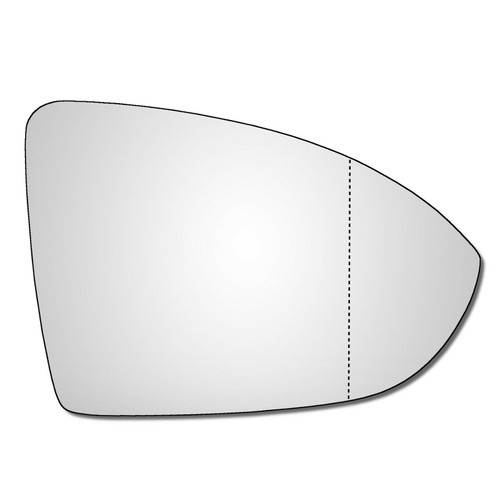 Right Hand Drivers Side VW Golf Mk7 / Mk7.5 2012-2021 Wide Angle Wing Door Mirror Glass