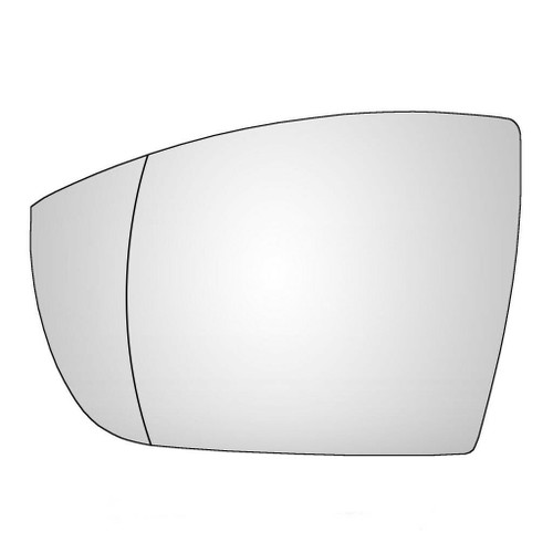 Left Hand Passenger Side Ford EcoSport 2012-2020 Wide Angle Wing Mirror Glass
