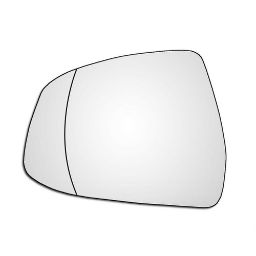 Left Hand Passenger Side Ford Mondeo 2007-2014 Wide Angle Wing Door Mirror Glass