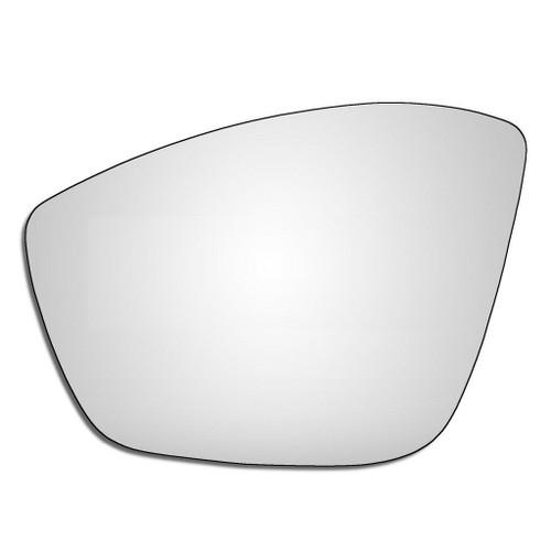 Left Hand Passenger Side Peugeot 2008 2013-2020 Convex Wing Door Mirror Glass